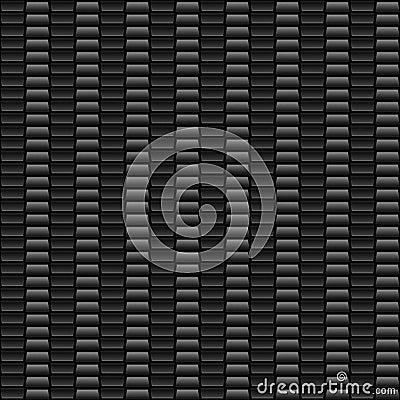 Nahtlose graue Kohlenstoff-Faser