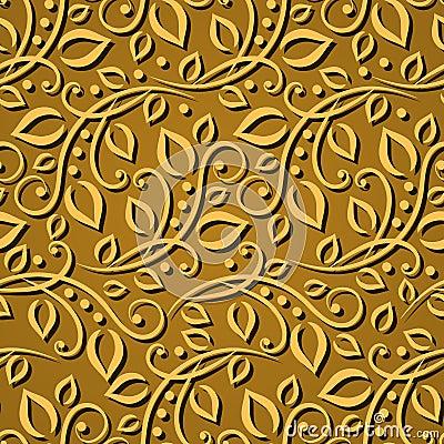 nahtlose mustergoldbl tter elegante beschaffenheit f r tapeten hintergr nde und seite f llen. Black Bedroom Furniture Sets. Home Design Ideas