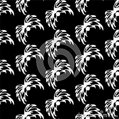 auch im corel abgehobenen betrag nahtloses abstraktes weies blumenmuster auf schwarzem hintergrund exklusive dekoration passend fr gewebe - Exklusive Dekoration