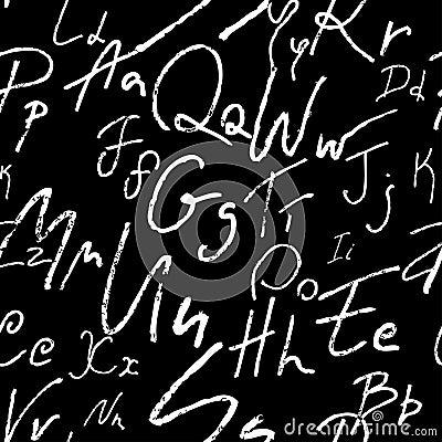 Nahtloses Alphabet
