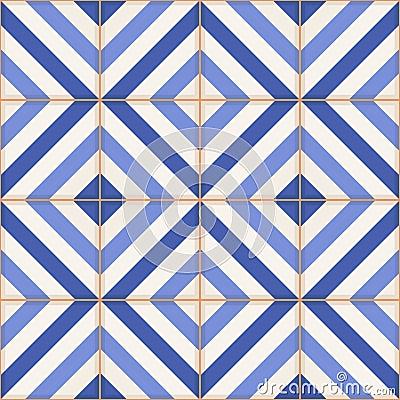 nahtloses muster marokkanische fliesen verzierungen von blauen streifen vektor abbildung bild. Black Bedroom Furniture Sets. Home Design Ideas