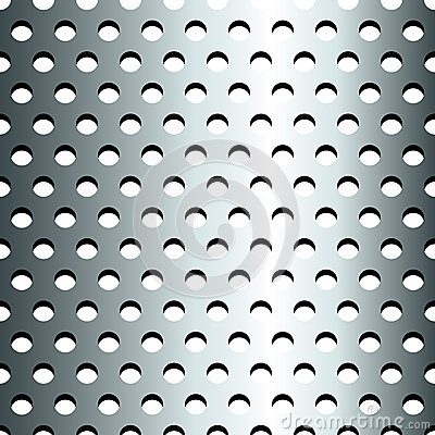 Nahtloses nicht rostendes metallisches Gitterfeld