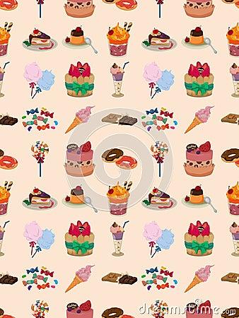 Nahtloses Süßigkeitsmuster