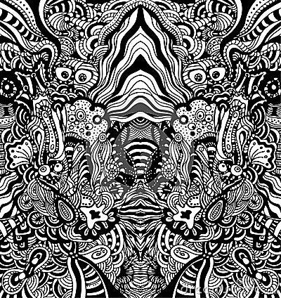 Nahtloses weinlese tapeten muster stockbild bild 8854221 - Besondere tapeten muster ...