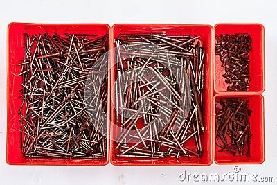 Nail in box