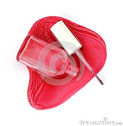 Nail polish and applicator