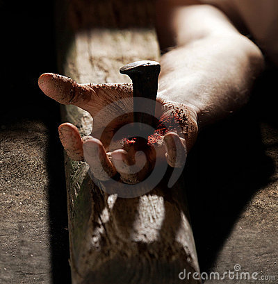 Free Nailed To The Cross Stock Photography - 22673732