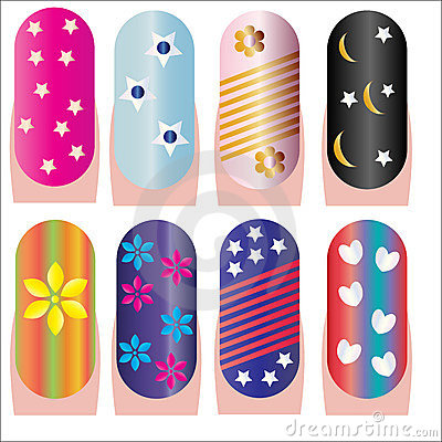 Nails decorative