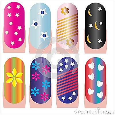 Nails decorative