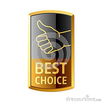 Najlepszy wyborowy emblemat