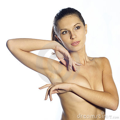 Naked beautiful woman