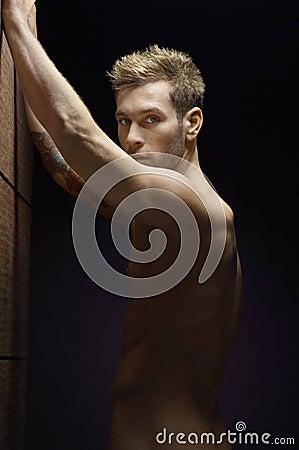 Naked Man Posing