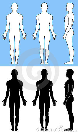 Free Naked Standing Man Stock Photos - 13835903