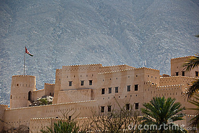 The Nakhl Fort in Al Batinah