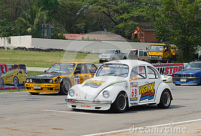 Car racing in Thailand Editorial Photo