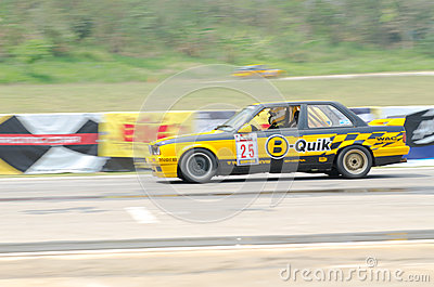 Car racing in Thailand Editorial Photography