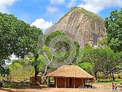 NAMAPA, MOZAMBIQUE - 6 DESEMBER 2008: Amazing, beautiful scenery Editorial Photo