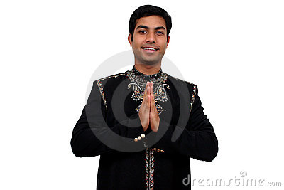 Namaste 1 with clipping path