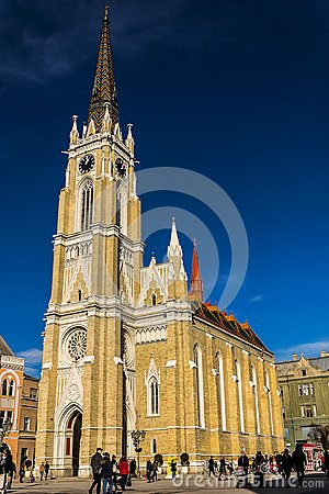 Free Name Of Mary Church Novi Sad Serbia Stock Image - 107088951