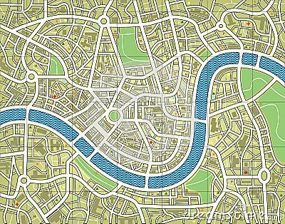 Nameless city map