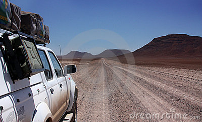 Namibia road Editorial Photography