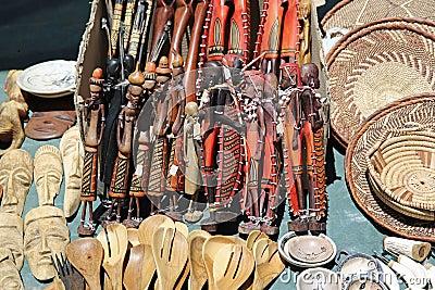 Namibian Souvenirs Editorial Stock Image