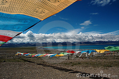 Namtso lake Editorial Image