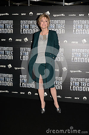 Nana Visitor At Destination Star Trek Editorial Stock Photo
