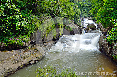 Nang Rong Waterfall in Khao Yai national park, Nakhon Nayok, Thailand