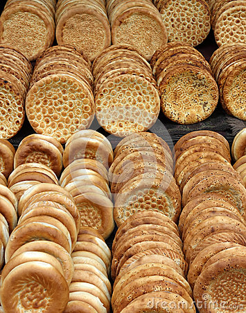 Nang,traditional bread of xinjiang, china
