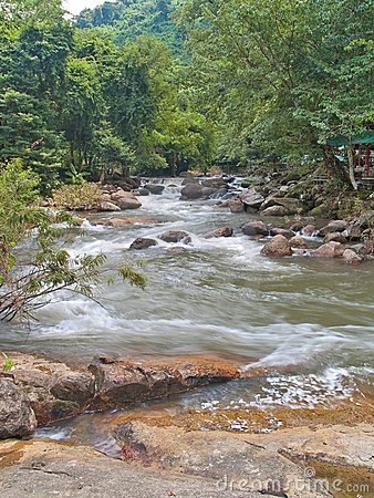 Free Nangrong Waterfall Stock Photography - 16463972