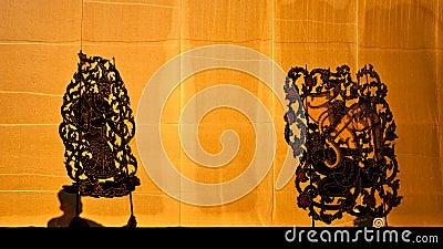 Nangyai grand shadow play