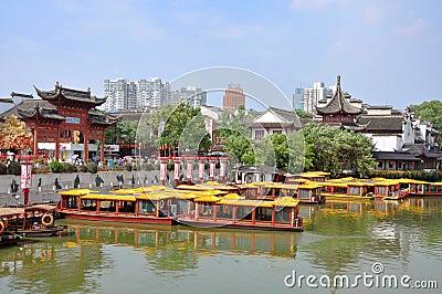 Nanjing Confucius Temple Editorial Image