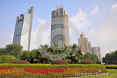 Nanjing Gulou Square, China
