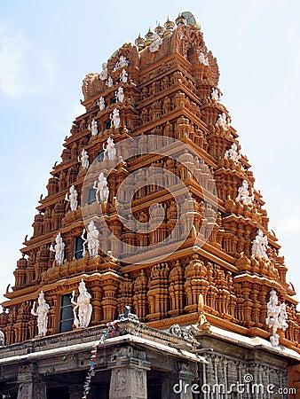 Nanjundeshwara Temple in Nanjanagoodu, Karnataka, India