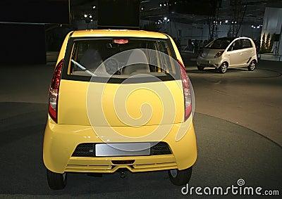 Nano at Auto expo in Delhi,