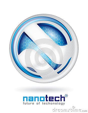 Nanotech logo design
