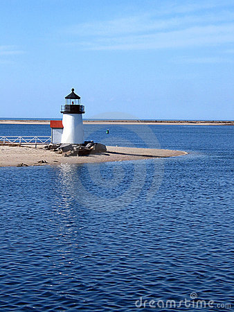 Free Nantucket Island Lighthouse Stock Photography - 900172