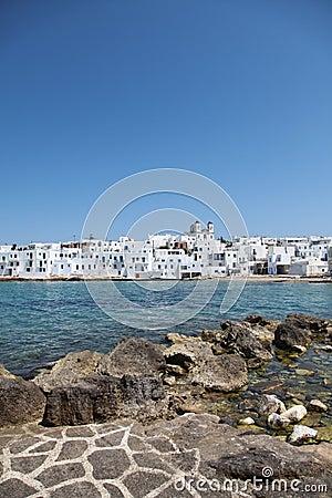 Naousa on Paros island