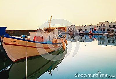 Naoussa coastal village