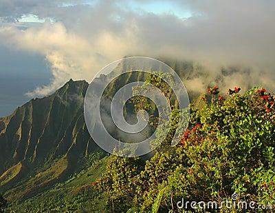 Napali Clouds, Kauai