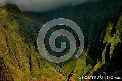 Napali Coast Rainbow, Kauai