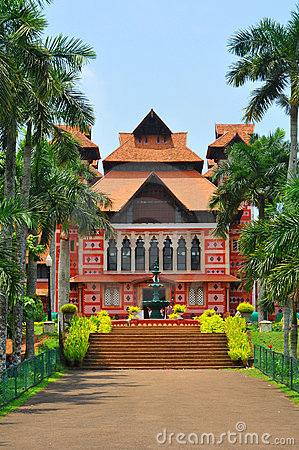 The napier museum of trivandrum, kerala, india