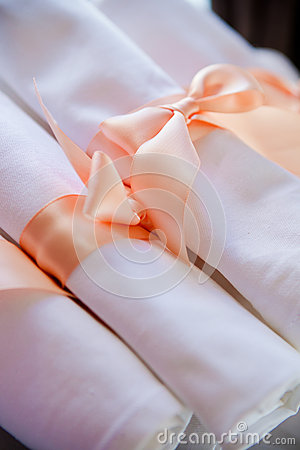 Napkin at a banquet