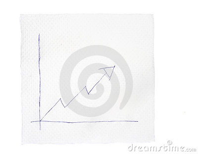 Napkin and graph 2