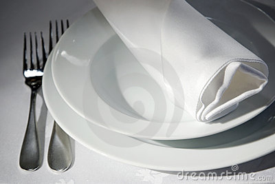 Napkin on tables