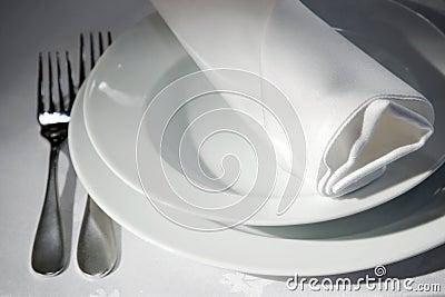 Napkin on tables