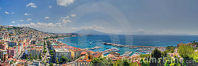 Naples, the bay