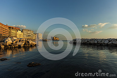 Naples, castel dell ovo