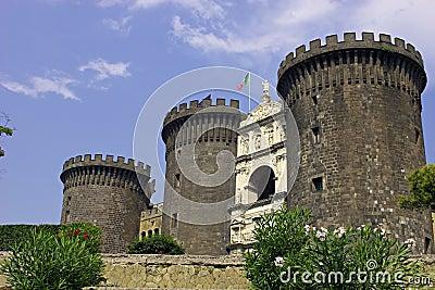 Naples castle.